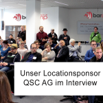 Barcamp Köln: Interview mit Locationsponsor QSC AG