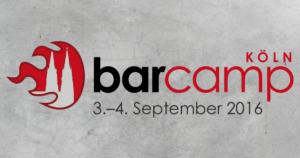 Barcamp Köln barcampkoeln Banner 2016